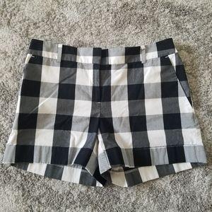 Loft Buffalo Plaid Shorts